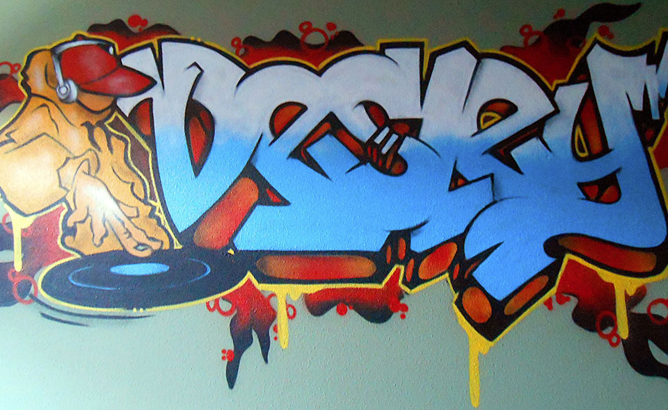 Graffiti Voor Slaapkamer : Slaapkamer graffiti graffiti for you
