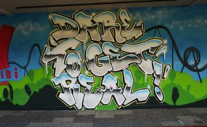 Walibi graffiti door Graffiti for You