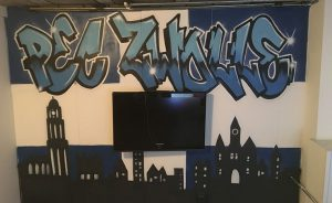 Zwolle graffiti Skyline