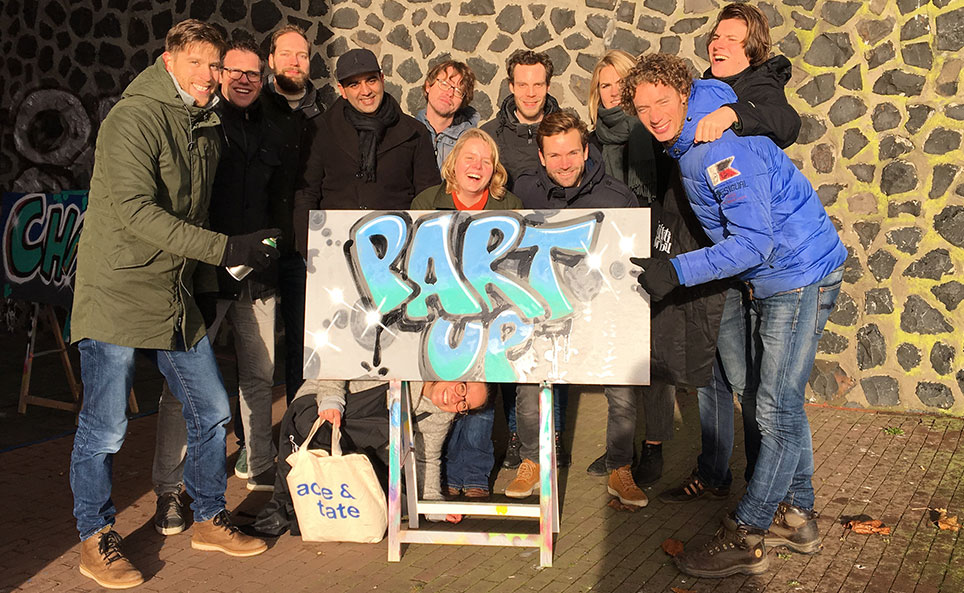 team building graffiti workshop